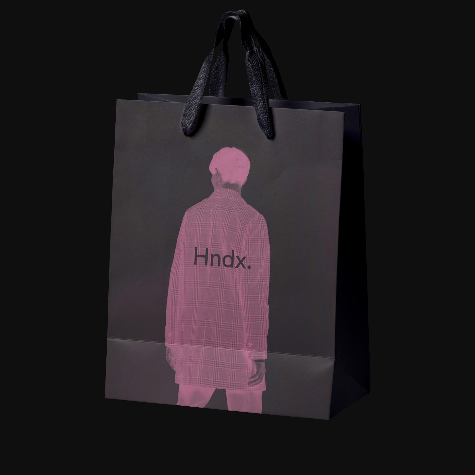 Corporate Design für Hndx. in Köln. Einkaufstasche Kölner Einzelhändler Hndx.
