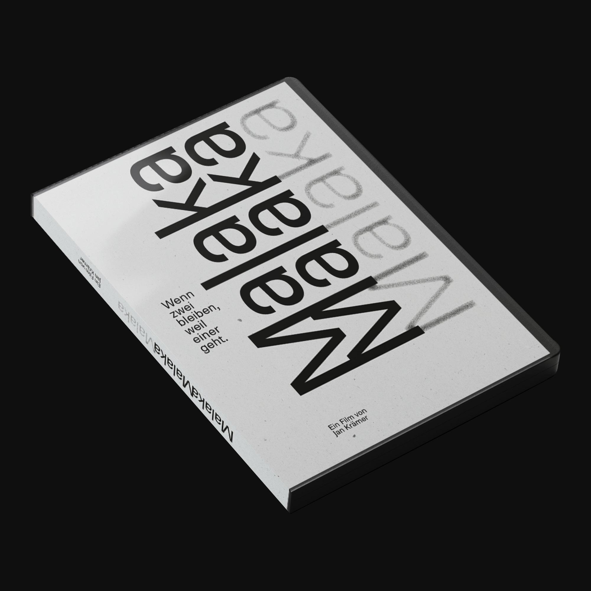 DVD-Cover für Malaka — Corporate Design Studio Köln